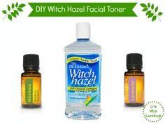 DIY Witch Hazel Facial Toner