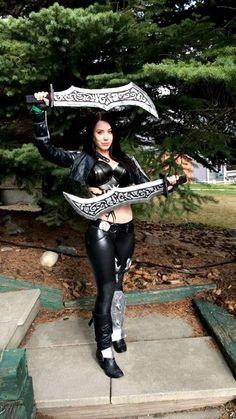 League of Legends cosplay-Katarina