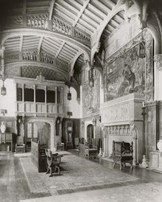 The Gilded Age Era: Arthur Curtiss James Mansion New York City - The 2 Story Great Hall, Which Doubled As A Ballroom On Occasion