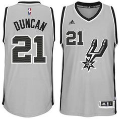 Tim Duncan San Antonio Spurs adidas Alternate Jersey 6771cbcaf