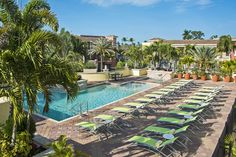 The Pool Deck | The Inn on Fifth Hotel (@innonfifth on Pinterest) | Fifth Avenue Downtown | Naples, Florida