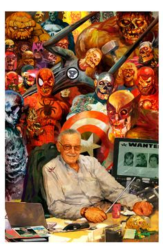Marvel Zombies & Stan Lee