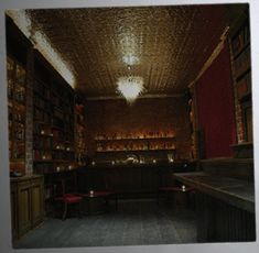 I SO want to go to the Bourban and Branch speakeasy in SF!  Library. Good drinks. Amazing ambiance. What more could you want?