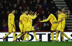 Capital One report – Bournemouth 1-3 Liverpool: Roger advances to draw Chelseain the semis