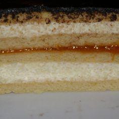 Mézes krémes Bjkatától   Nosalty Vanilla Cake, Cheesecake, Food, Cheesecakes, Essen, Meals, Yemek, Cherry Cheesecake Shooters, Eten