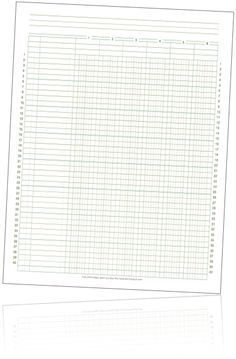 This printable finance paper, like that found in a