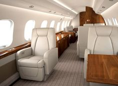Intérieur design Jet Privé Netjets