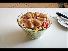 ΣΑΛΑΤΑ ΤΟΥ ΣΕΦ!! - YouTube Cookbook Recipes, Cooking Recipes, Yams, Fruit Salad, Guacamole, Potato Salad, Salads, Food And Drink, Mexican