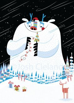 Christmas Monster Josh Cleland