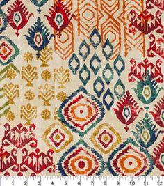 Home Essentials 45 Print Fabric-FC Geko Cabin Home Essentials 45 Textile Pattern Design, Ikat Pattern, Surface Pattern Design, Textile Patterns, Pattern Art, Print Patterns, Floral Patterns, Curtain Lining Fabric, Drapery Fabric