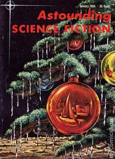 Astounding Science Fiction Christmas cover