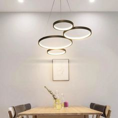 White/Black Modern LED Suspension Lights – Lightmopolis Led Pendant Lights, Pendant Lamp, Pendant Lighting, Nordic Interior, Home Interior Design, Interior Lighting, Home Lighting, Hotel Decor, Light Colors