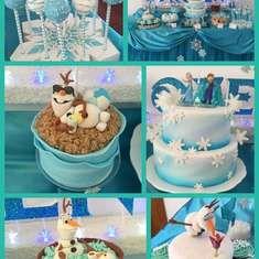 Frozen party for Maddie - Frozen (Disney)