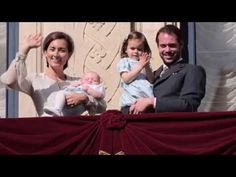 Grand Ducal Family of luxembourg attended The traditional Oktav celebrat...