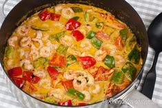 Kreolsk gryta med räkor LCHF | Receptfavoriter Low Carb Recipes, Cooking Recipes, Healthy Recipes, Lchf, Swedish Recipes, Fish And Seafood, Seafood Recipes, Food Inspiration, Good Food
