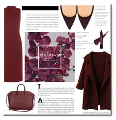 """#106 - Major Marsala Dresses"" by intothenight27 ❤ liked on Polyvore featuring WearAll and Givenchy"