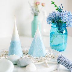 디웨이 눈결정 캔들 만들기 방법 #snow #candle #diy