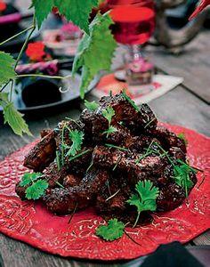 Kinesiska BBQ-ribs