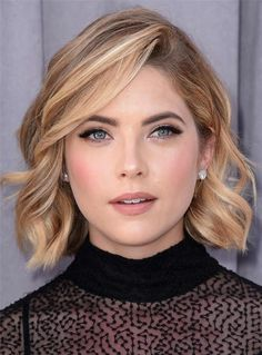 #WigsBuy - #WigsBuy Short Attractive Wavy Popular Synthetic Hair Lace Front Women Wigs 10 Inches - AdoreWe.com