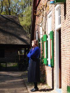 Staphorst in het openluchtmuseum Arnhem. The Netherlands