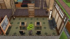 My Sims Free Play - Sterling Archer's Sexy Summer Hideout: 2nd floor study (12/13)