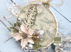 Great set of Christmas MDF Baubles.