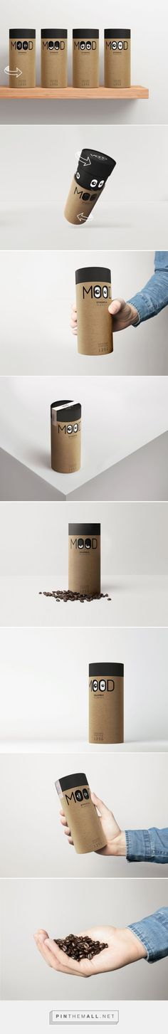 Coffee Mood Packaging Canister Design