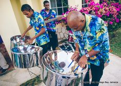 Steel Band- perfect for a Caribbean themed Beach Wedding