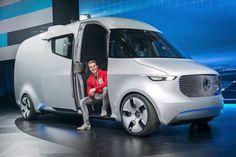 TODO SOBRE LOGÍSTICA Y DEPÓSITO EN ARGENTINA  Mercedes-Benz lanzará para el 2018 la furgoneta comercial eléctrica 'Vision Van'