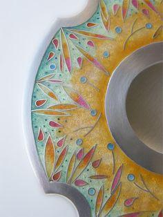 gallery - Ruth Ball Enamel Design  Amazing enameling work using cloisonné?