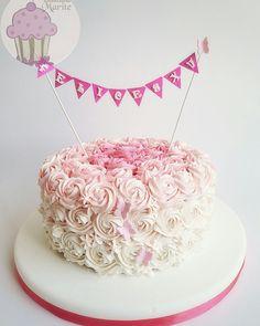 Torta para mujer Pretty Cakes, Margarita, Cake Decorating, Food And Drink, Birthday Cake, Baby Shower, Desserts, Vestidos, Frases