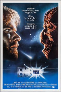Enemy Mine: the B-movie that is a parable for absolutely everything