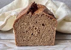 Brot-Rezepte - Backen mit Christina Banana Bread, Vegan Recipes, Food And Drink, Baking, Desserts, Baguette, Low Carb, Cook, Cooking