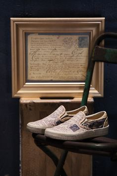 I want these shoes for my writing days! Vans Partners With The Van Gogh  Museum 17e79d176