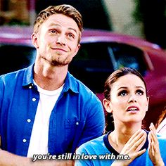 He's the perfect amount of sassy.   23 Reasons Zoe Hart And Wade Need To Get Back Together