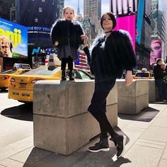 and the cute having fun at NYC with our Jelly's ♥️ Jelly Shoes, Lemon, Nyc, Ootd, Photo And Video, Yellow, Stylish, Friends, Instagram