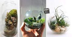 DIY | Des mini jardins fait maison! 20 idées pour vous inspirer…