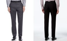 4eea401a42 Calvin Klein Slim-Fit Solid Dress Pants - Pants - Men - Macy s Mens Dress