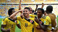Asi se vivio el triunfo de la seleccion colombia en el C.C la morea ,pamplona-navarra-españa Colombia ganó 2-0 a Uruguay con 2 goles de James Rodríguez en Maracaná http://fergoto.com/noticias/colombia-gano-2-0-a-uruguay-asi-se-vivio-en-pamplonaespaña #fergoto www.fergoto