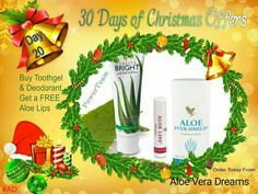 Stocking fillers or a personal care pamper gift.... our infamous tooth gel and deodorant is offered today with a beautiful aloe lips free!!  #giftyourself #30daysofxmas #ad #stockingfillers