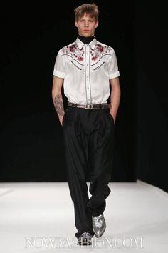 Topmen S/S 2014, Fashionshow