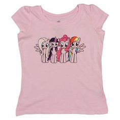 My Little Pony Toddler Girls' Short Sleeve T-Shirt - Pink