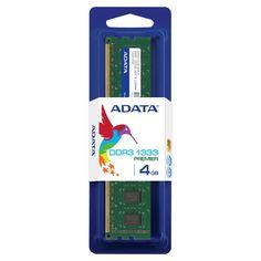 Memoria RAM Adata DDR3, 1333MHz, 4GB, U-DIMM AD3U1333C4G9-S $735.09 precio sujeto a cambio