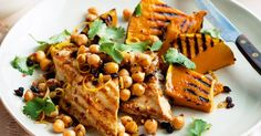 Cumin chicken & pumpkin with chickpea salsa, an easy weeknight meal that's super healthy, easy on the budget, gluten free, diabetes friendly AND ready in 30 minutes. Cumin Chicken, Cashew Chicken, Chicken Pumpkin, Skin Care Routine For 20s, Skincare Routine, Skin Routine, Midweek Meals, Weeknight Dinners, Easy Dinners
