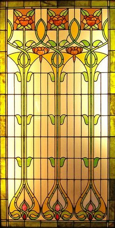 Floral Stained Glass | Flickr - Photo Sharing!