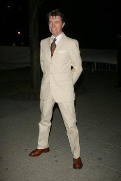 David Bowie Photo - Vanity Fair 2007 Tribeca Film Festival Party