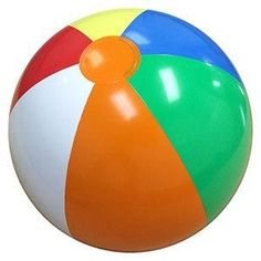The universal beach ball everybody seemed to have.