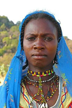 Sudan. The people of the Nuba mountains