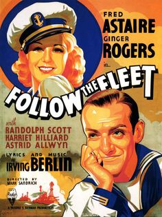 Ginger Rogers and Fred Astaire, Follow the Fleet, 1936