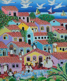Pintura acrílica Naif